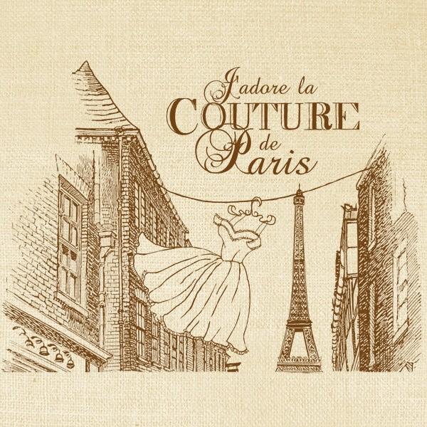 Affiche publicitaire Paris Tour Eiffel