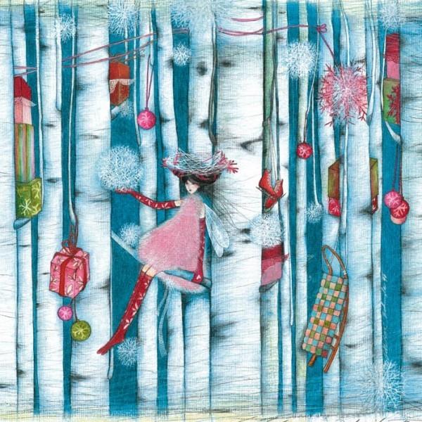 """""""La forêt des cadeaux suspendus"""", de Marie Cardouat"""