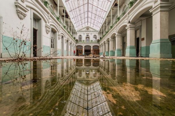 Lieux abandonnés, photographie de Romain Veillon