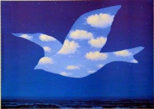 """""""La promesse"""", de René Magritte"""