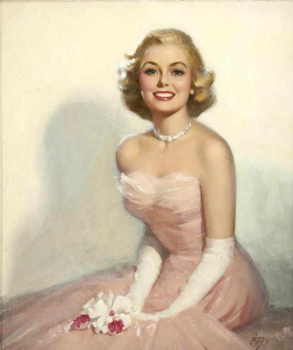 Femme des années 1950