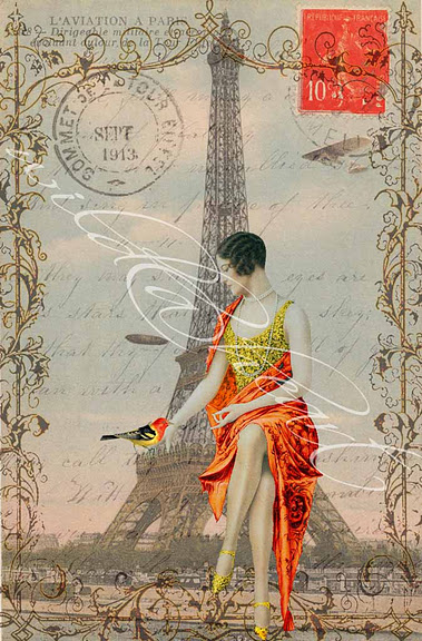 Affiches de Paris Tour Eiffel
